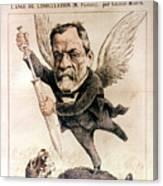 Louis Pasteur (1822-1895) Canvas Print