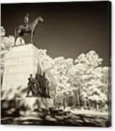 Louisiana Monument At Gettysburg Canvas Print