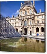 Louvre Museum Architecture Paris Canvas Print