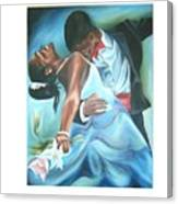 Love Dance Canvas Print