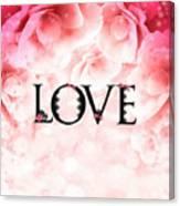 Love Heart Nd12 Canvas Print