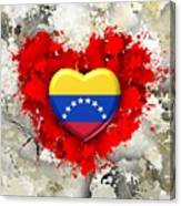 Love Venezuela Canvas Print