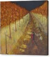 Lovers Walk Canvas Print