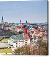 Lublin Old Town Panorama Poland Canvas Print