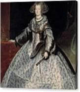 Luycks, Frans Amberes, 1604 - Viena, 1668 Maria Of Austria, Queen Of Hungary Ca. 1635 Canvas Print