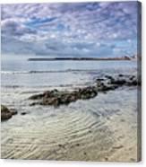Lyme Regis Seascape - October Canvas Print