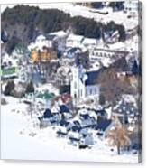 Mackinac Island Winter Canvas Print