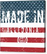 Made In Alledonia, Ohio Canvas Print