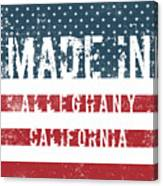 Made In Alleghany, California Canvas Print