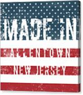 Made In Allentown, New Jersey Canvas Print