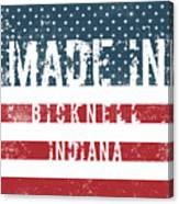 Made In Bicknell, Indiana Canvas Print