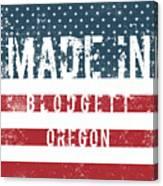 Made In Blodgett, Oregon Canvas Print