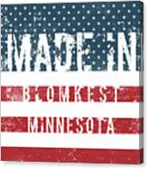 Made In Blomkest, Minnesota Canvas Print