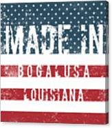 Made In Bogalusa, Louisiana Canvas Print