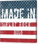 Made In Flat Rock, Ohio Canvas Print