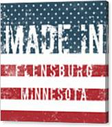 Made In Flensburg, Minnesota Canvas Print