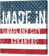 Made In Garland City, Arkansas Canvas Print