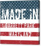 Made In Garrett Park, Maryland Canvas Print