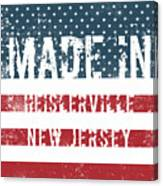 Made In Heislerville, New Jersey Canvas Print