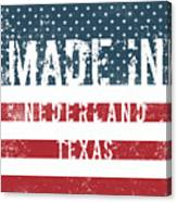 Made In Nederland, Texas Canvas Print