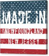 Made In Newfoundland, New Jersey Canvas Print
