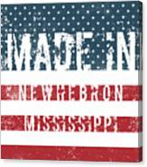 Made In Newhebron, Mississippi Canvas Print