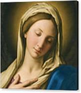 Madonna At Prayer Canvas Print