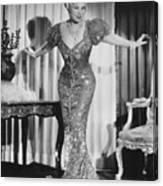 Mae West (1892-1980) Canvas Print