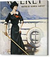 Magazine Cover, 1913 Canvas Print