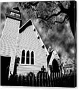 Magnolia Springs Alabama Church Canvas Print