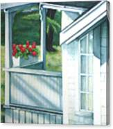 Maine Porches Number One Canvas Print