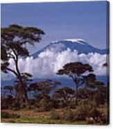 Majestic Mount Kilimanjaro Canvas Print
