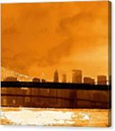 Majestic Skyline Canvas Print