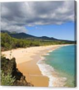 Makena Beach Canvas Print