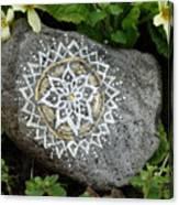 Mandala Stone  Canvas Print