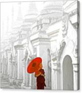 Mandalay Monk Canvas Print
