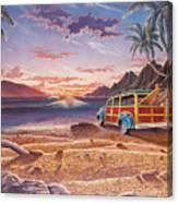Mango Bay Canvas Print