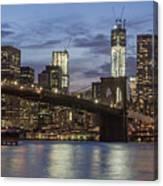 Manhattan Skyline New York Canvas Print