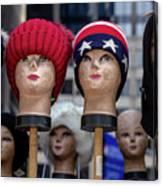 Mannequin Heads Canvas Print