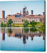Mantua Skyline Canvas Print