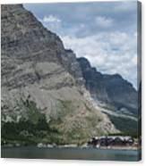 Many Glacier Lodge Canvas Print