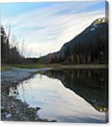 Marble Canyon British Columbia Canvas Print