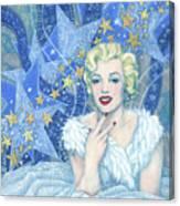 Marilyn Monroe, Old Hollywood Series Canvas Print