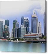 Marina Bay Singapore Canvas Print