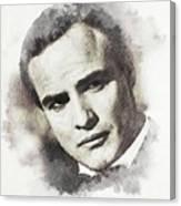 Marlon Brando Canvas Print