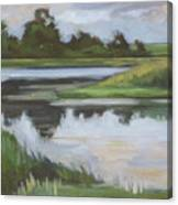 Marsh, June Afternoon Canvas Print