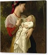 Maternal Admiration Canvas Print