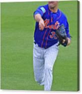 Matt Harvey New York Mets Canvas Print