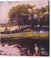 Mayo Landscape Canvas Print