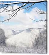 Mcguire Mountain Overlook Canvas Print